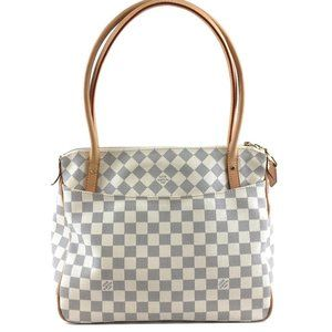 Louis Vuitton Figheri Pm Zipper Top Shoulder Bag